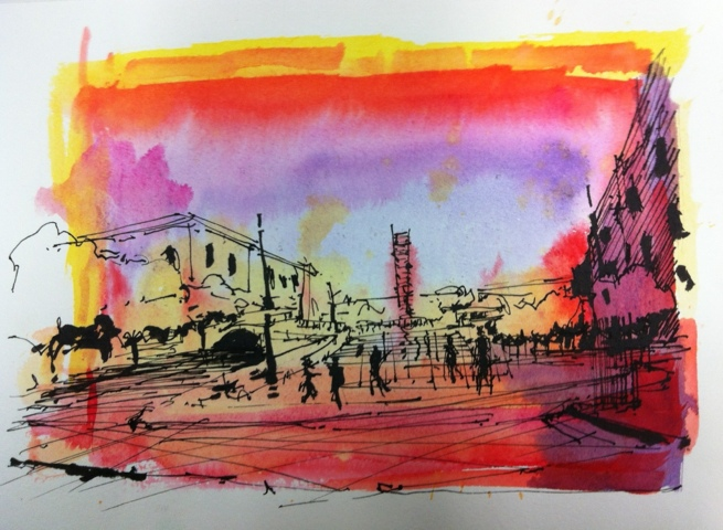 Washing color inks