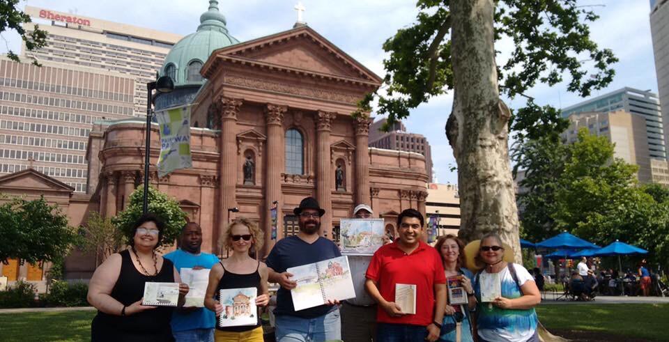 A New Chapter: Urban Sketchers Philadelphia