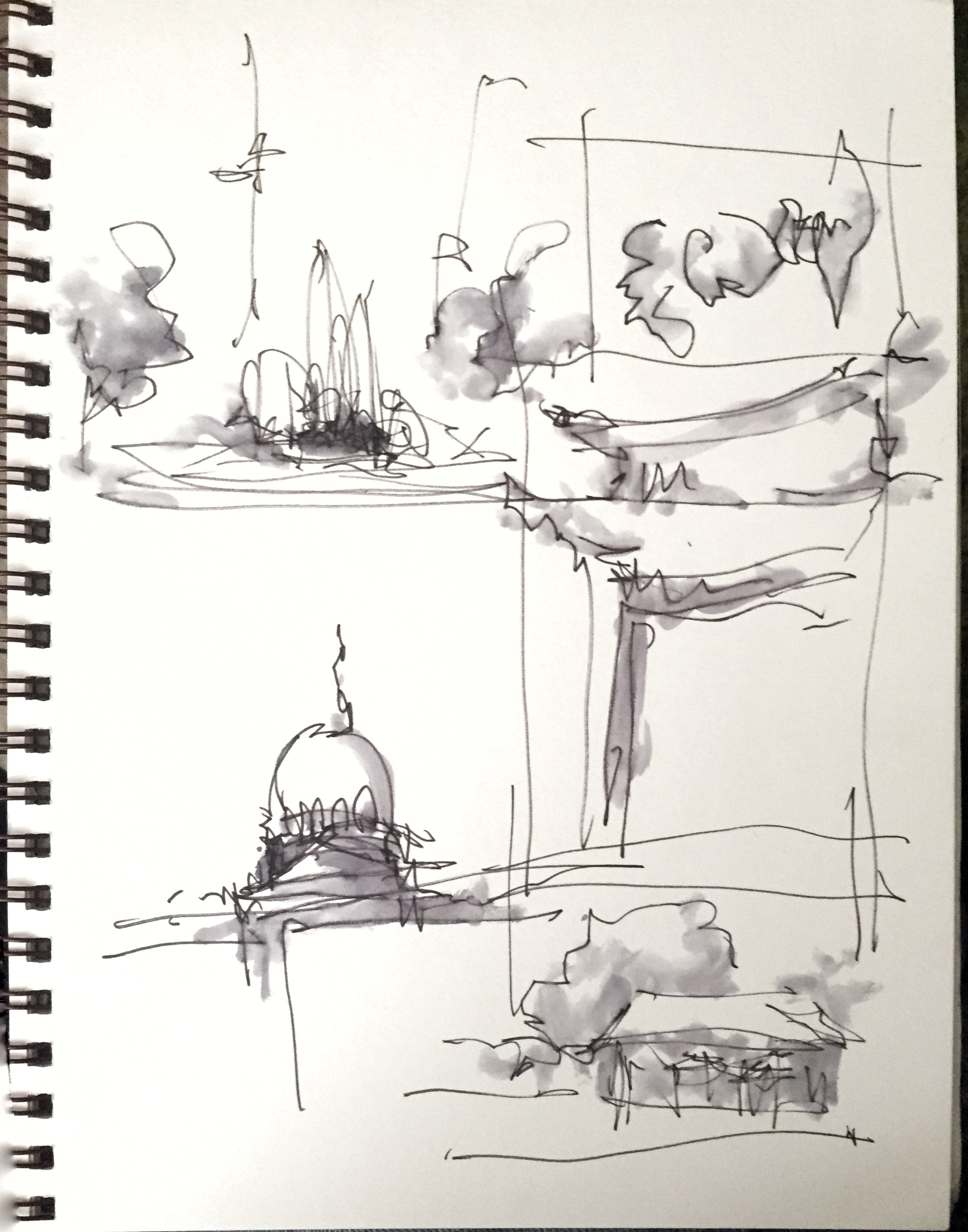 Sketching With Watersoluble Ink (Part 2)